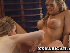 Mackenzee Pierce And Tera Dice lesbian fun