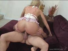 Kylie Worthy rides her hot pussy on this thick shaft