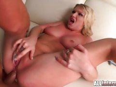 Hottie Lucy Heart gets her ass filled with hard cock