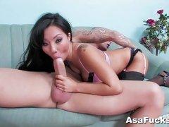 Asa Akira Gets Pounded deep and hard