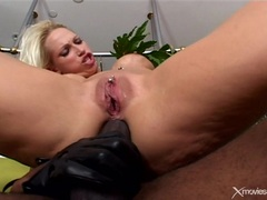 Nikki Hunters interracial anal jabbing