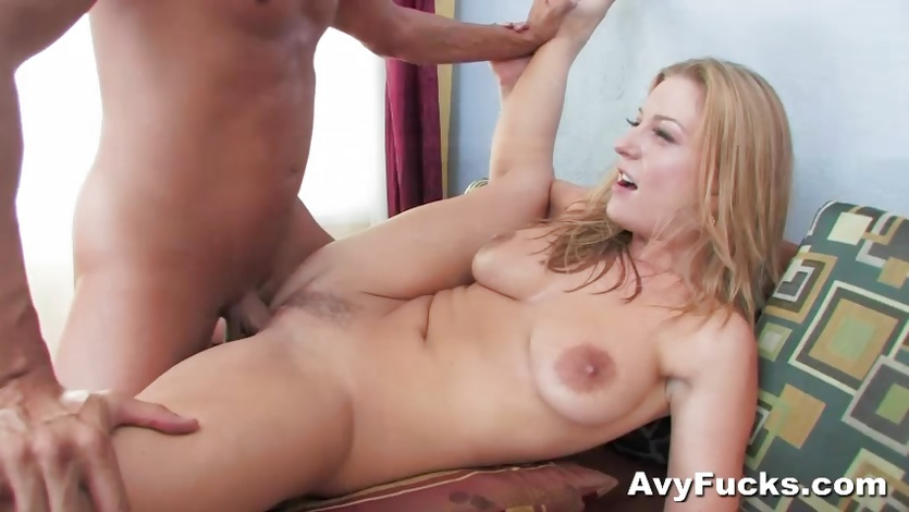 Avy Scott gets her hot pussy filled with thick cock