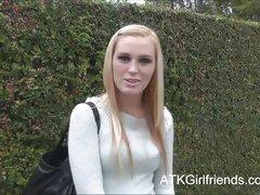 Amanda Bryant hot date with hairy creampie