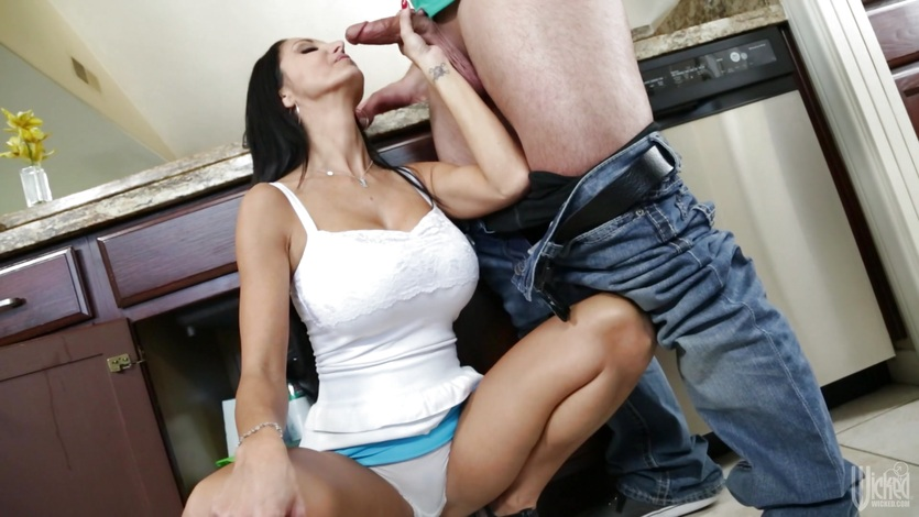 Toyboy fucking for Ava Addams