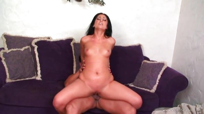 Luscious Lopez bounces her pussy on this hard dick