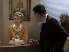 Office banging for receptionist Katie Summers