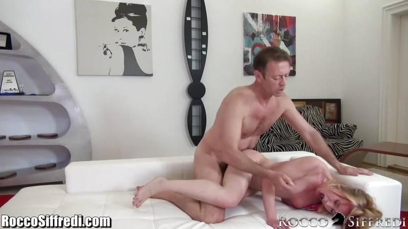 Rocco Siffredi ass fucking a hot babe