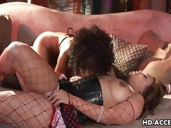 Misty Stone loves teasing Mone Devines hot pussy