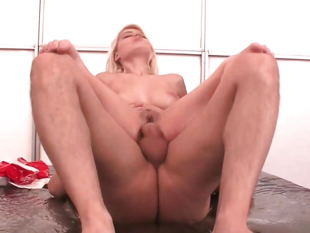 Jasmine Rouge bounces her ass on this hard prick