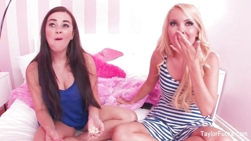 Challenge for hotties Taylor Vixen and Aaliyah Love