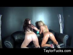 Steamy lesbian fun with Taylor Vixen and Tasha Reign