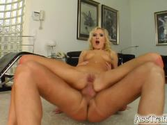 Angela Winters gets her ass crammed with hard cock