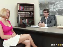 Krissy Lynn gets some hot shrink dick