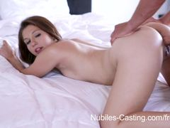 Rough pussy pounding for hottie Ariana Grand