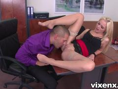 Vanda Lust enjoys a rough pussy pounding