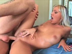 Adrianna Russo takes this hard dick deep in her warm slot