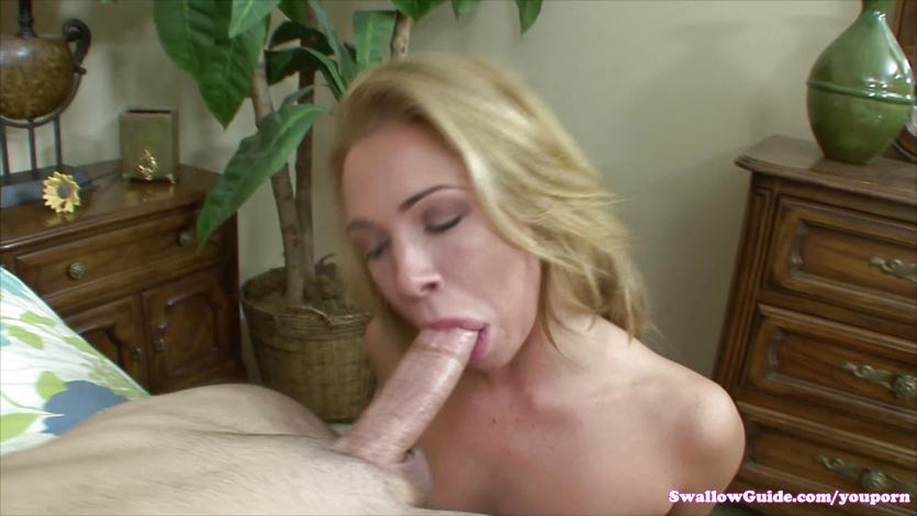 Katerina Kay gobbles down this hard cock