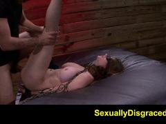 Dominated Dillion Carter gets her wet pussy slammed