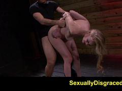 Jayden Rae gets her wet slot slammed