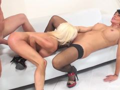 Nikita Von James and Shay Fox enjoy a wild threesome