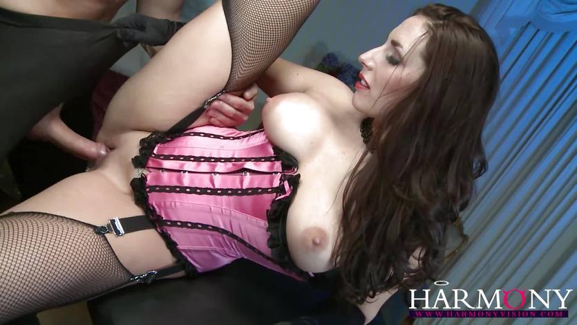 Paige Turnah enjoys a rough pussy pounding