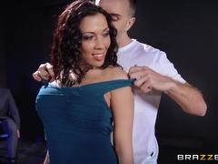 Unexpected cuckold session for Rachel Starr