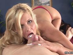 She really likes sucking dick