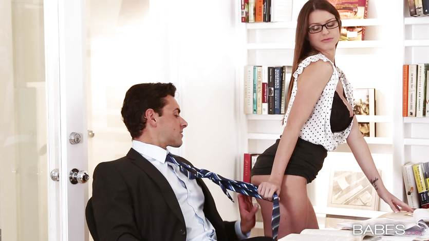 Secretary Brooklyn Chase offers her services