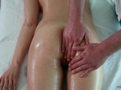 Connie Carter deals with a hard oily shaft