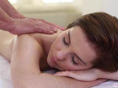 Massage and meatpole for Kasey Warner