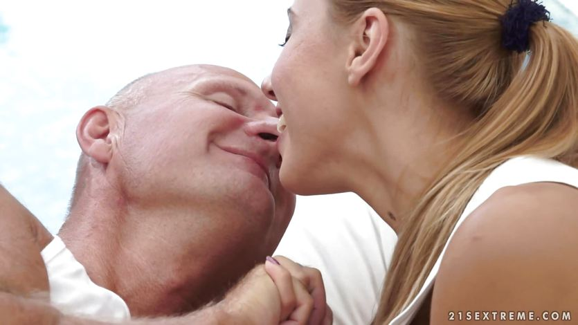 This lucky old man bags himself the sensational Nikky Thorne