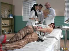 Patient Ryder Skye fucked by her doctor