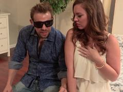Gorgeous Maddy OReilly fucks her blinde date