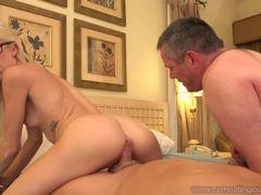 Halle Von loves hard cock