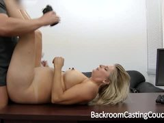 Hot milf enjoys a rough pussy pounding