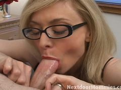 Nina Hartley devours this hard cock