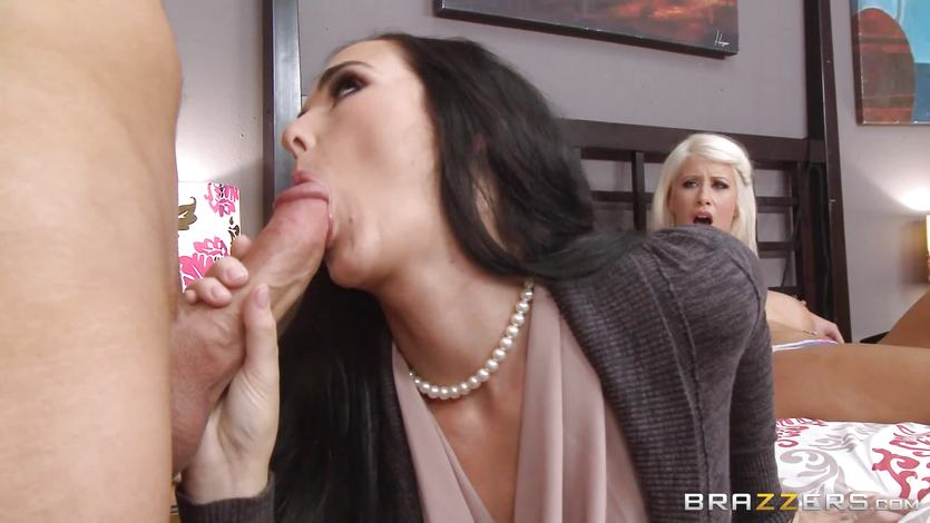Hot slutload mom teach daughter fucking