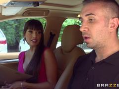 Mercedes Carrera gets shafted by her driving student