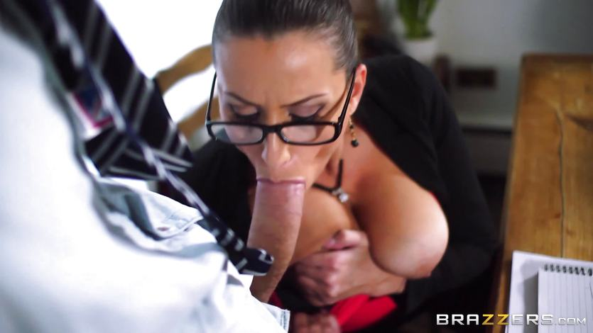 Sexy teacher Sensual Jane fucking at school