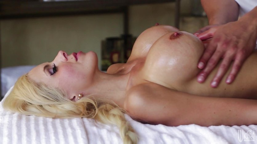 Sensual massage and extras for MILF Nina Elle