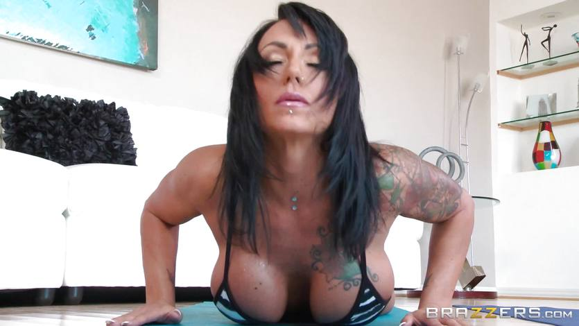 Ashton Blake gets her throat filled with dick
