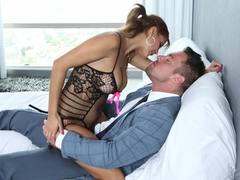 Bianca gets her mature pussy pumped