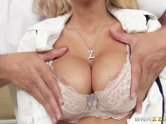 Kayla Kayden gets her pussy banged by her moms masseur