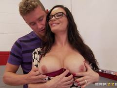Diamond Foxxx is fucked by her favourite student