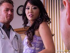 Miko Dai is seduced by the doc in front of her man