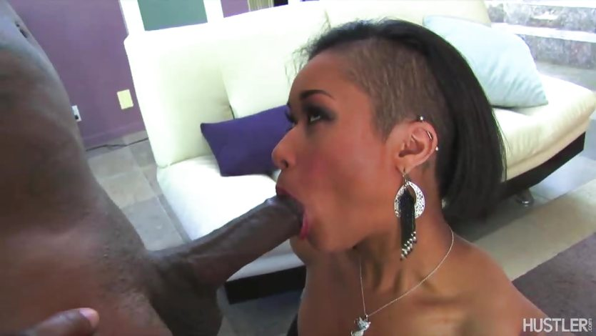 Sassy babe Skin Diamond loves hard cock