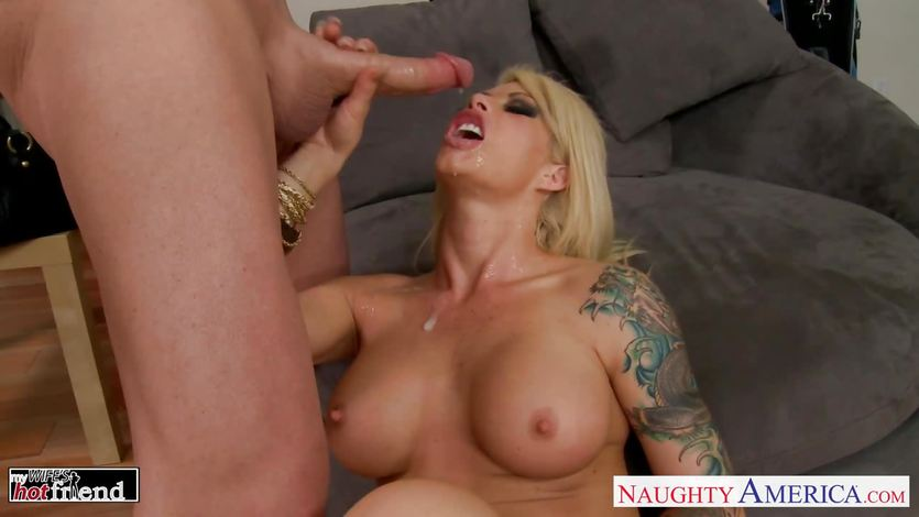 Brooke Haven fucked deep and hard gets a facial