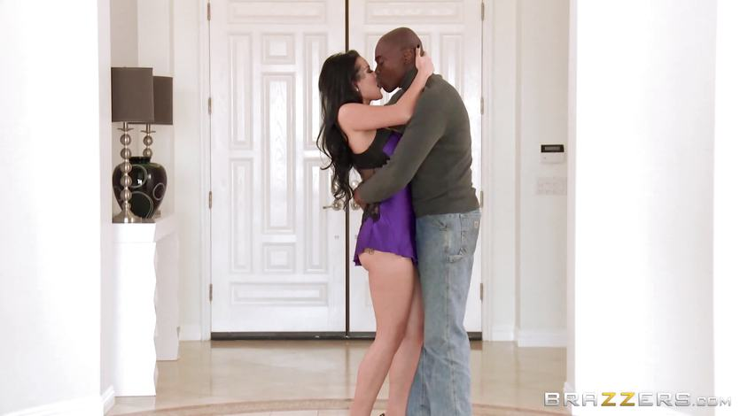 Katrina Jade caught fucking a hot black shaft