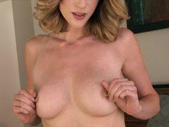 Rampant masturbation with Anya Amsel