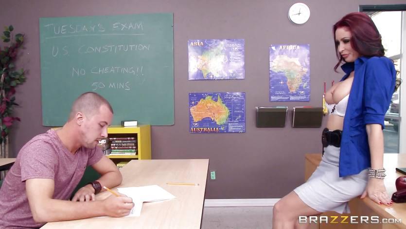 Student Fucks Teacher Big Tits